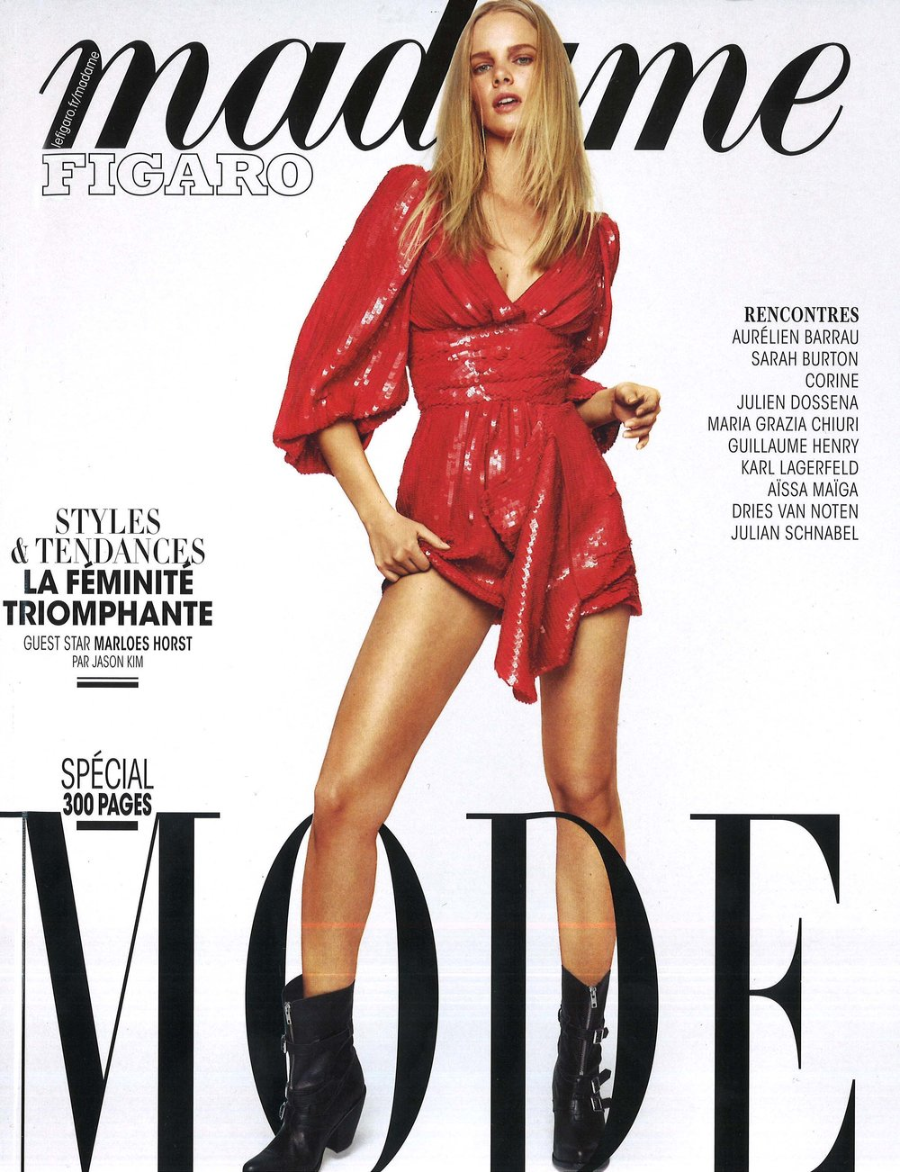Madame Figaro March 2019 Civer.jpg