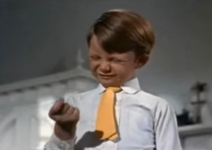 Mary Poppins finger clicking kid