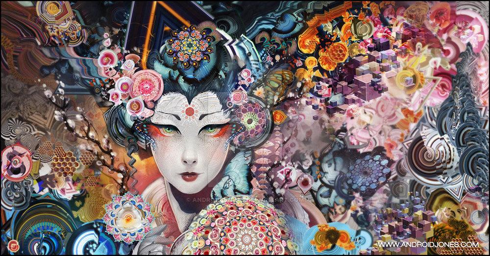 rainbow geisha by android jones.jpg