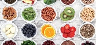 Vegetable, Fruit, Grains, beans and seeds