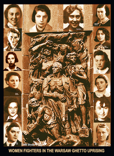 Women Fighters in Warsaw Ghetto Uprising