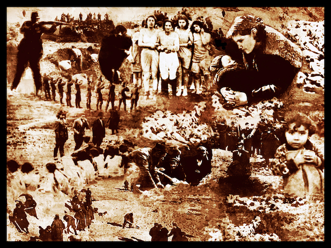 Shootings by Einsatzgruppen in Soviet Union – 1.5 million shot