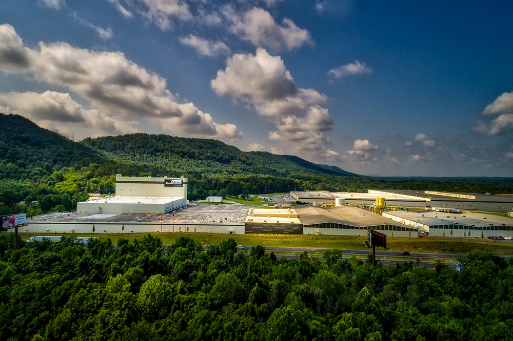 Shaw Industries - RP Plant   The Shaw RP plant produces LVT, or Luxury Vinyl Tile, for the Shaw Industries group. Located just down the road in Riggold, GA, we completed the tower section of the facility in 2017 totaling at 92,800 square feet.