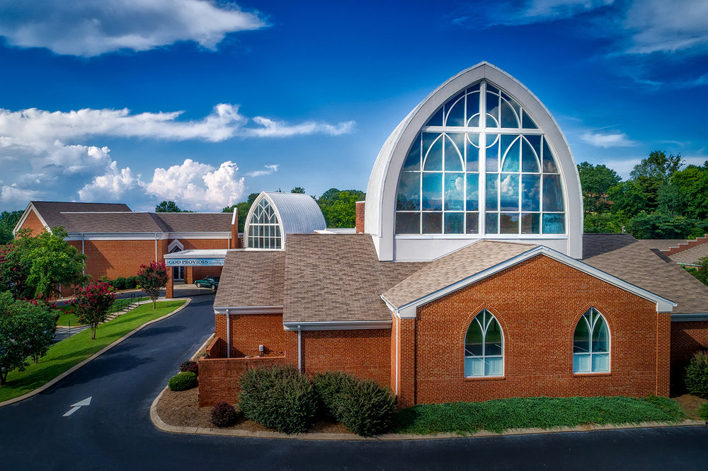 Tyner Methodist Church   We completed this new church building as well as renovations for the Tyner Methodist Church in 2001, which totaled in at over 23,000 square feet. This new and renovated space offered a new sanctuary, cafeteria, classrooms and office space as well as a stage and event area.