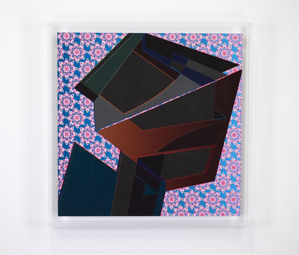 FRESH PRINTS ELEVEN, 2018, 13 x 13 inches framed