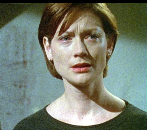 CU Veronica (Sophie Ward) background Celia Imrie in studio.jpg