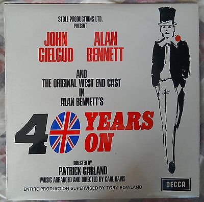 Hello... - Thank you for calling by.When I was 16,I had the brilliant opportunity of being part of Alan Bennett's first play, '40 Years On' at the Apollo Theatre.It was the start of a working life that has combined acting in the 1970s and '80s, and writing film scripts & plays.If you have a moment, please take a look around.Links below: