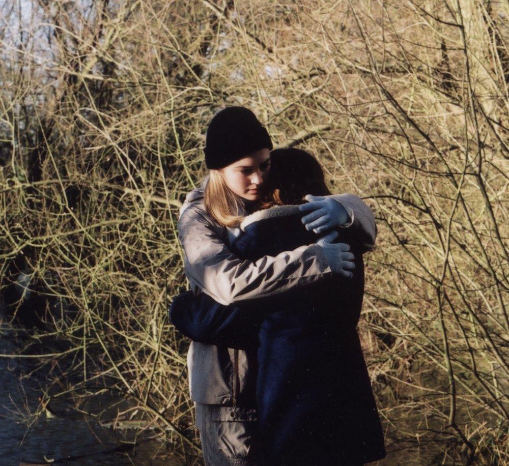 Louise (Sophia Myles) hugging Phoebe (Kelly Salmon).jpg