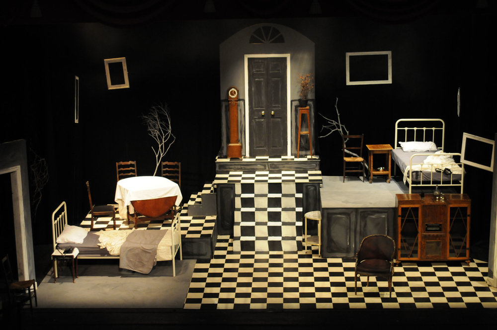 Set - Talking Scarlet's production of The Widow.JPG