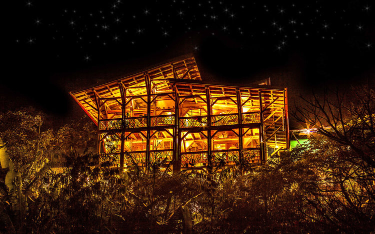 The stunning eco-Bambu Guest House