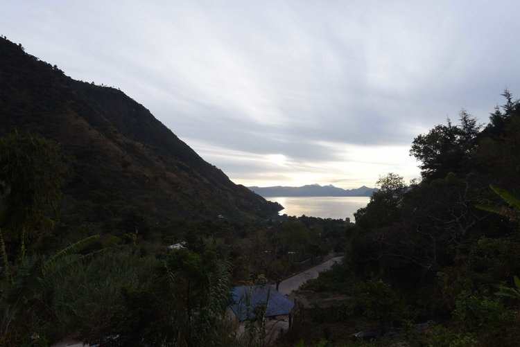 The view from the Bambu Retreat Center