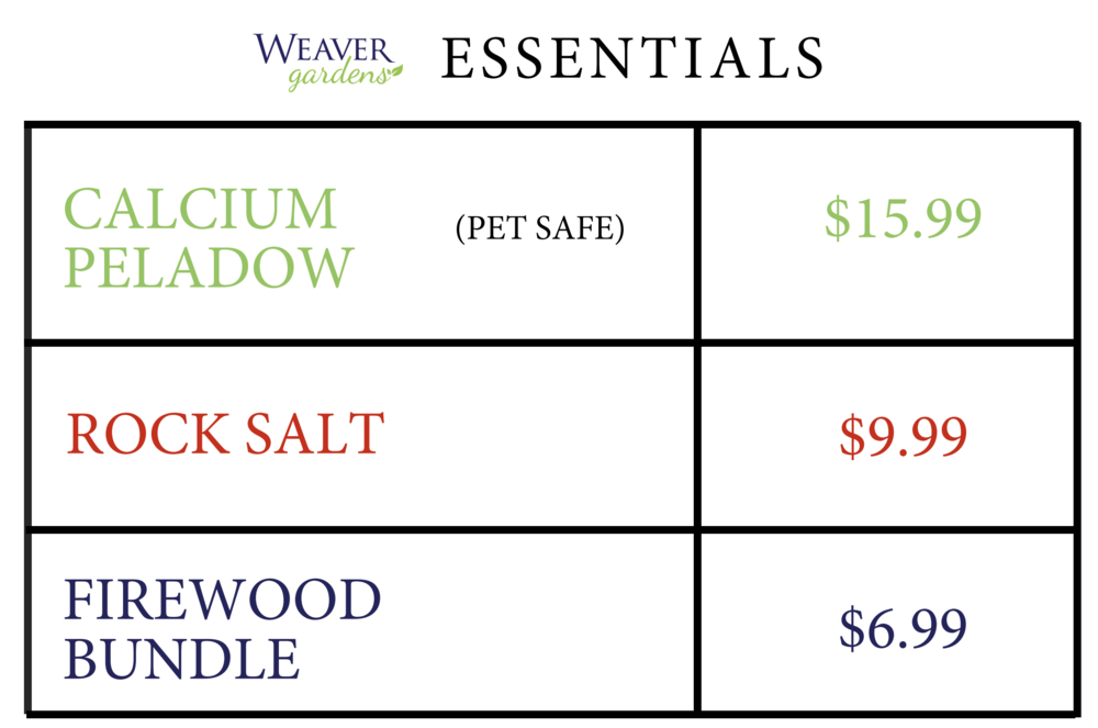 Weaver Gardens essentials pricing.png