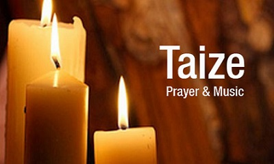 Taizé,  an style of worship that uses candlelight, meditation and moments of silence to ring in the first day of Lent. The service, which originated in the Burgundy region of France in the 1940s, does not include a sermon and is shorter than a Sunday worship. Traditionally, worshipers partake in a series of chants as opposed to singing typical hymns.