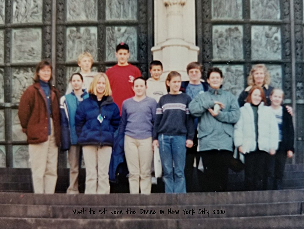 2000 Visit to the Cathedral of St. John the Divine