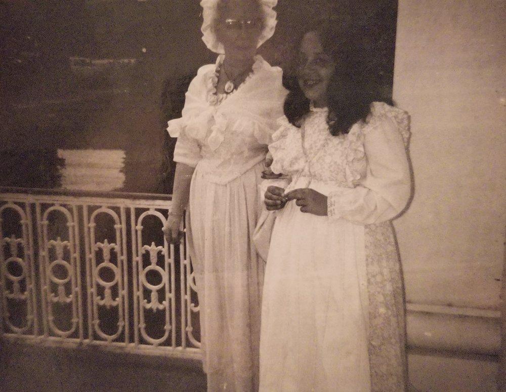 Mrs. Renton & Andrea Schultz