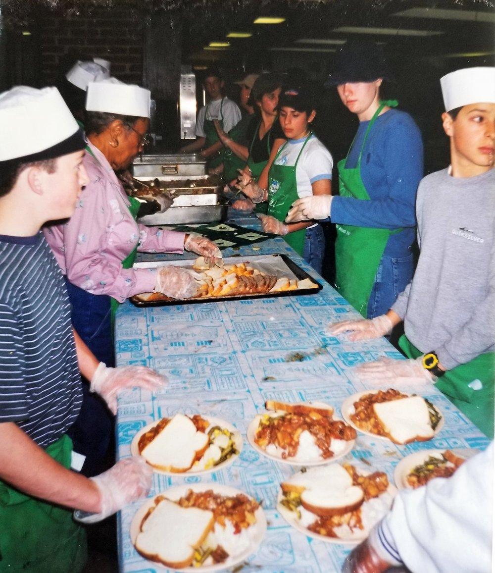 2000 Youth Group Trip to Washington, DC