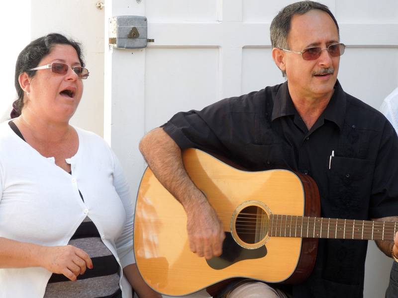Cuba Mission - April 2013 Newsletter - Abel  Sara singing.jpg