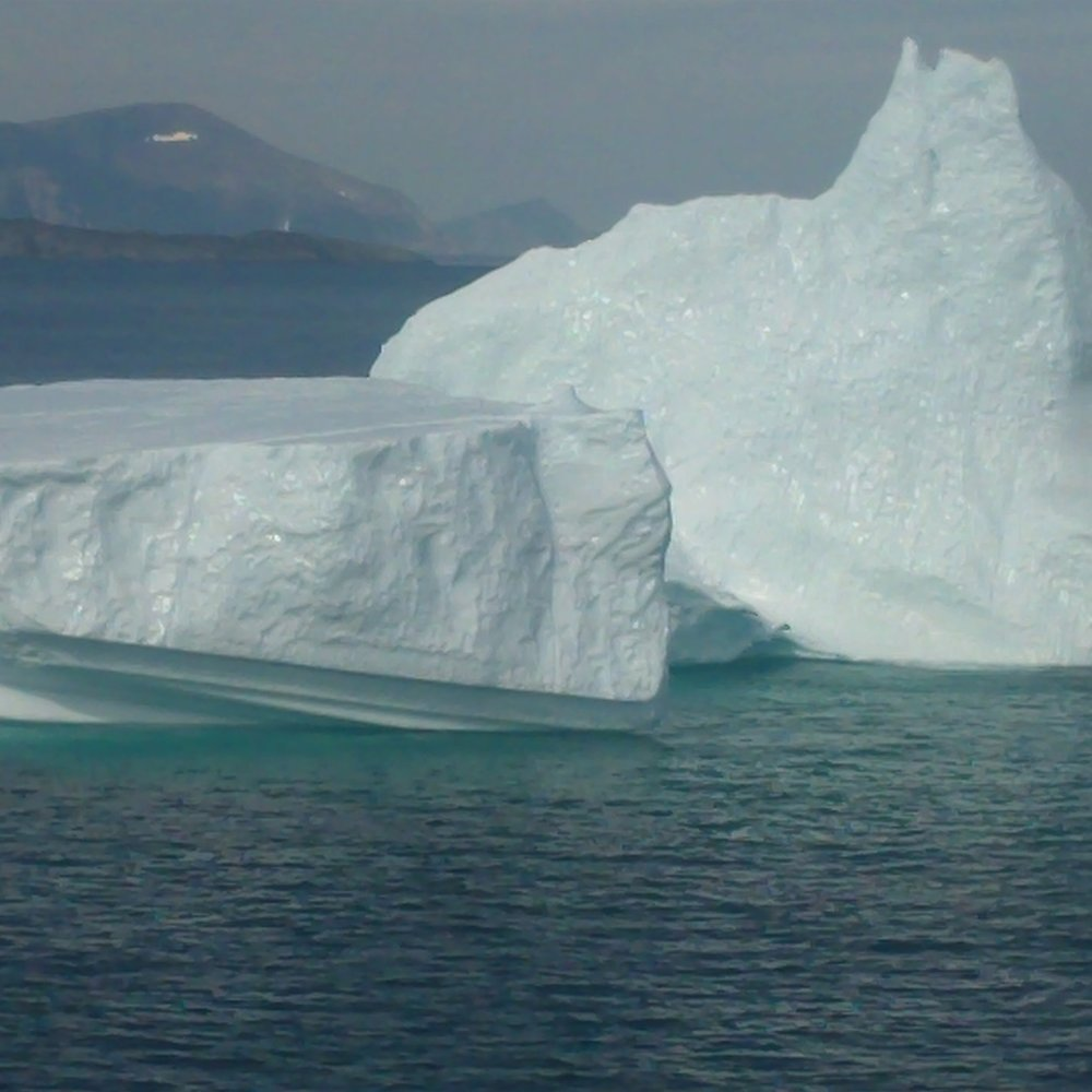 ICEBERGS OFF THE LABRADOR COAST - 10,000 YEAR OLD GLACIAL GIANTS
