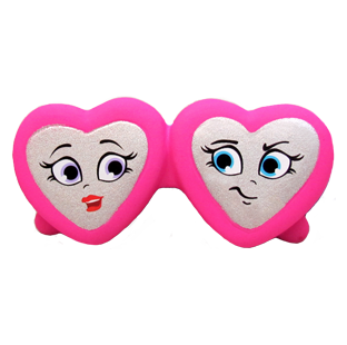 Iris & Raya Heart