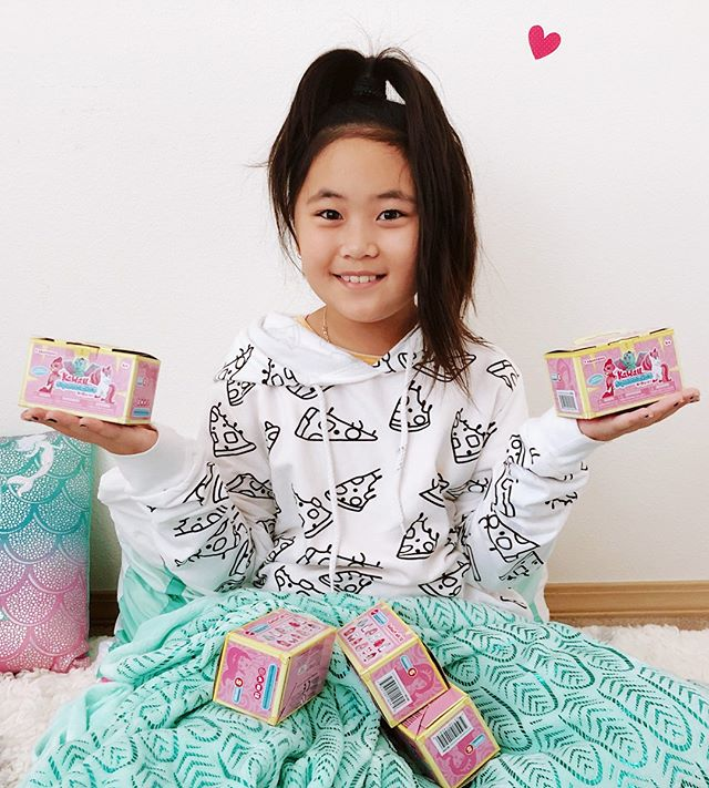 The ultimate slumber party accessory? Opening Kawaii Squeezies of course! #Repost @princessriristyle