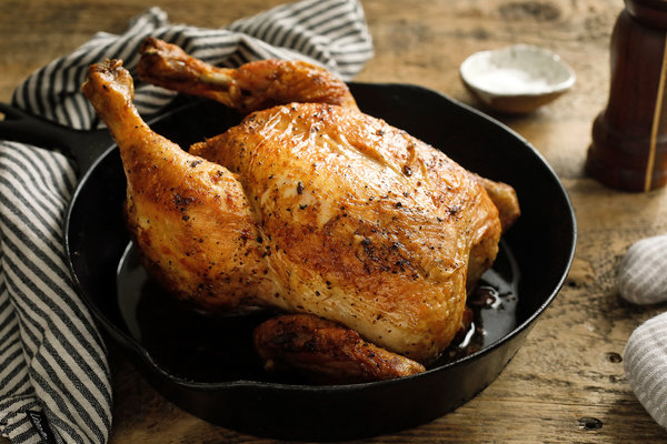 Whole Chicken - Option 1, whole chickens. A whole chicken, packaged roasting style, is simple to prepare and can provide several meals worth of meat. Whole chickens are normally priced at $5.00/lb. With this offer, they are priced as follows:1-4 chickens: $4.75/lb5-9 chickens: $4.50/lb10+ chickens: $4.25/lb