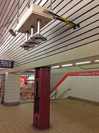 DAS access point in New York City subway