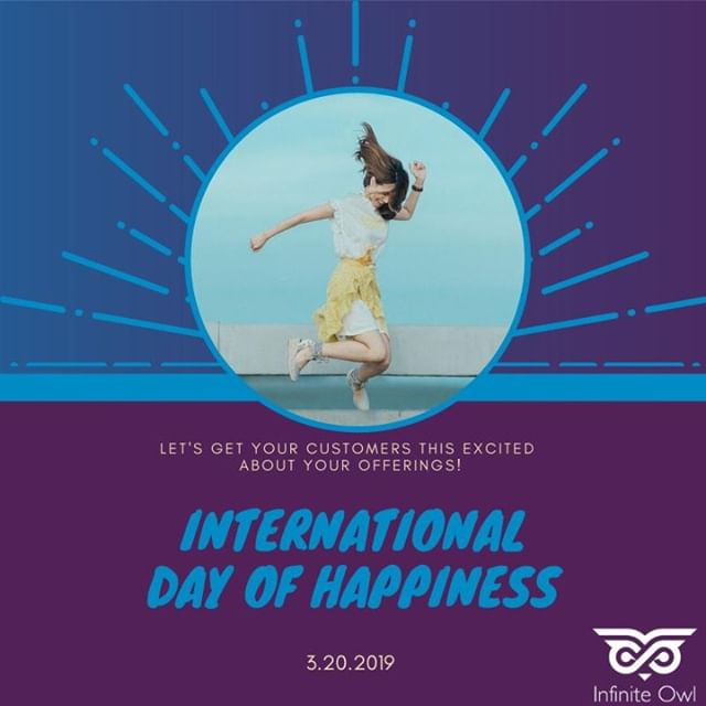Today is #InternationalDayofHappiness! Take time out to re-evaluate your marketing strategy to include the Inbound Methodology: 1. Attract 2. Engage 3. Delight 4. REPEAT. This will help gain new customers and keep your current ones happy! . . . . . #hubspot #digitalmarketing #inboundmarketing #attract #engage #delight #repeat #marketing #strategy #happiness #happy #excited #customers #offerings #march