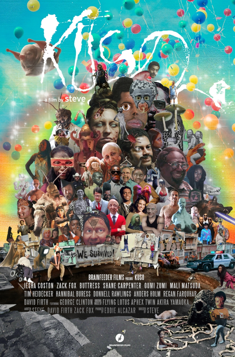 """Poster + Billboard Designs for Feature Film """"Kuso"""" Directed by Steve Ellison"""