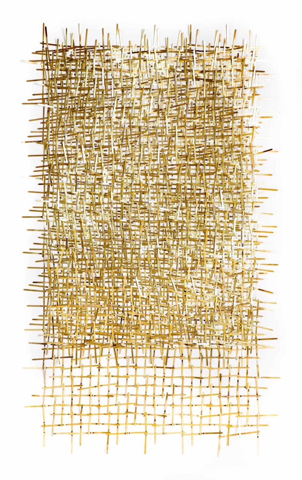 Invasion - Papier et laiton76 x 112 cm2018Pièce unique(SOLD)