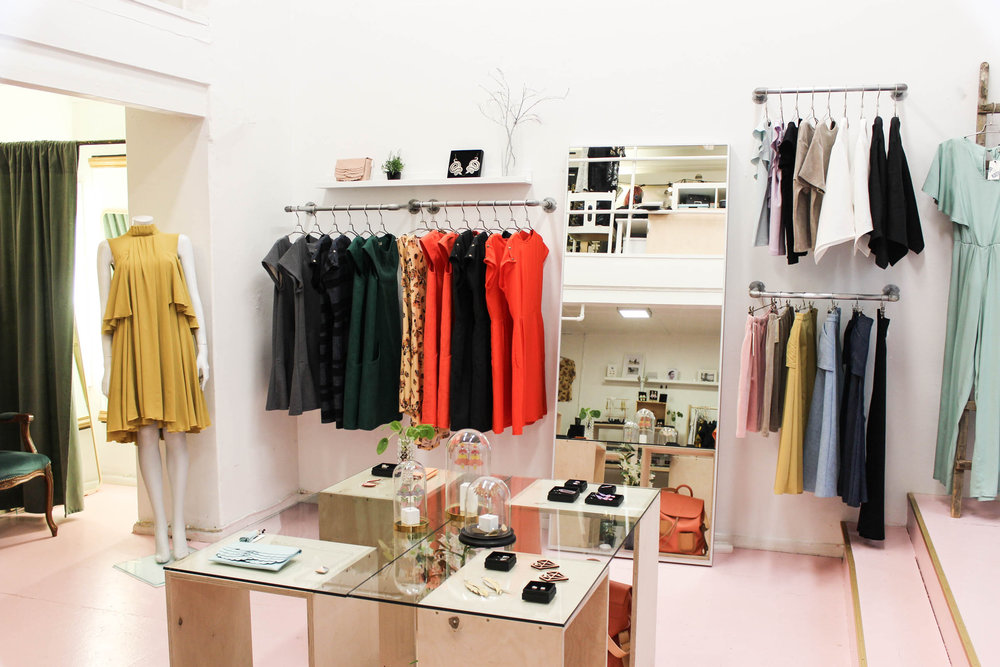 About Frank/ie - Frank/ie is a contemporary fashion & design store based in Punavuori area, Helsinki. Frank/ie is run by a collective of independent designers. Each label believe in local and ethical production, high quality materials and unique design. The shop's collections consist of small series and unique pieces of clothes, bags, shoes, jewellery and other accessories.Labels: Jatuli, Mori Collective, Kuula + Jylhä, Miia Halmesmaa, Kati Vee, KIKS, Iljana and Minna Paussu