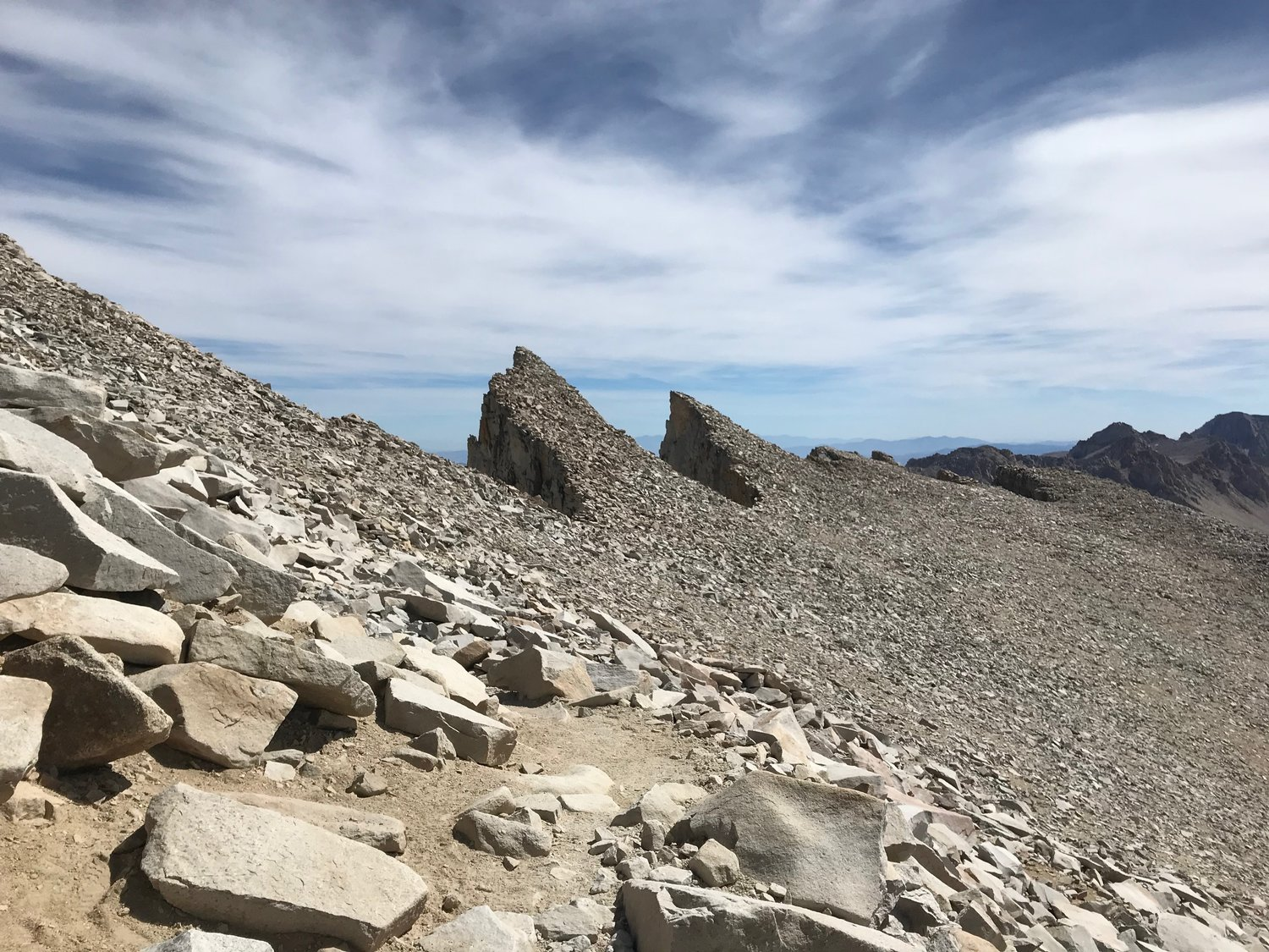 Keeler Needle from the west