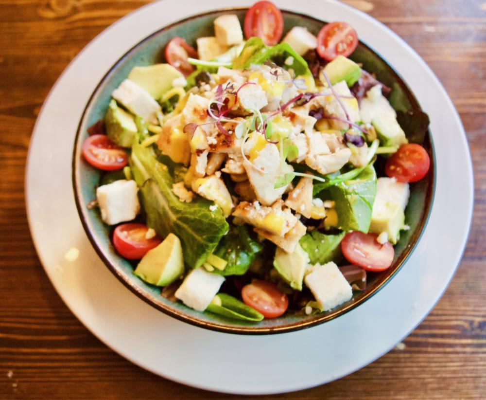 Mexican Salad w/ Shrimp