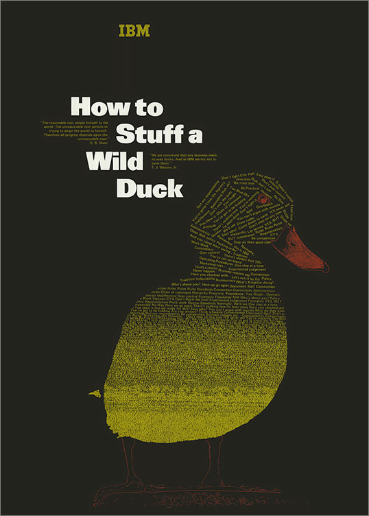 How to Stuff a Wild Duck, 1973