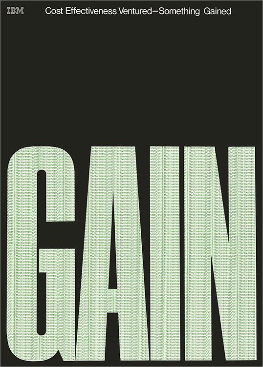 Cost Effectiveness | Gain, 1969–79