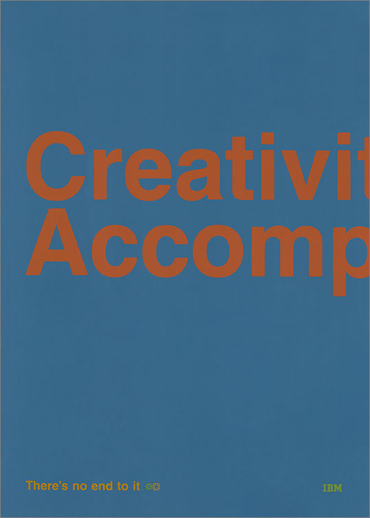 Creativity / Accomplishment: There's No End to It, 1969–79