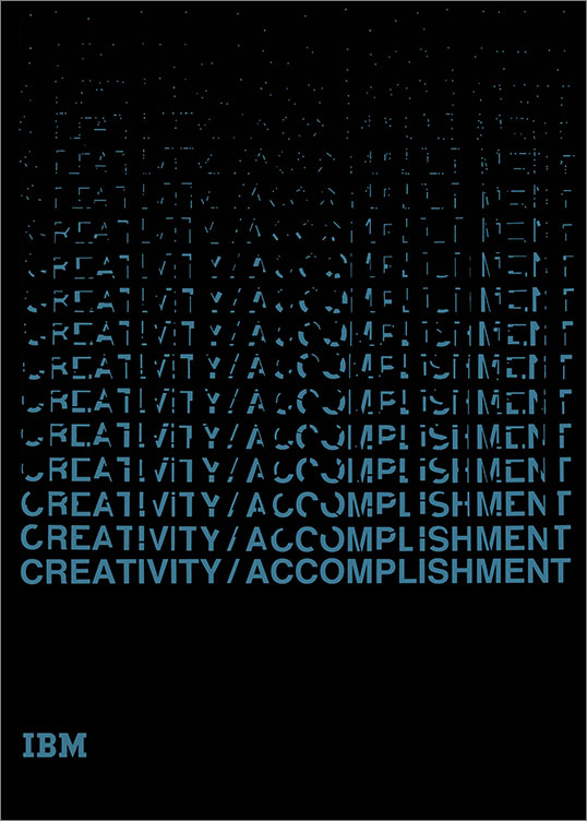 Creativity / Accomplishment