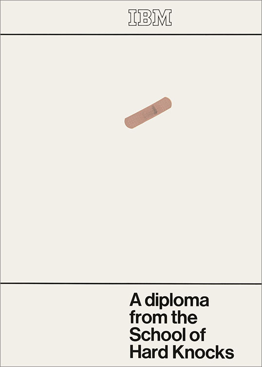 A Diploma from the School of Hard Knocks, 1972