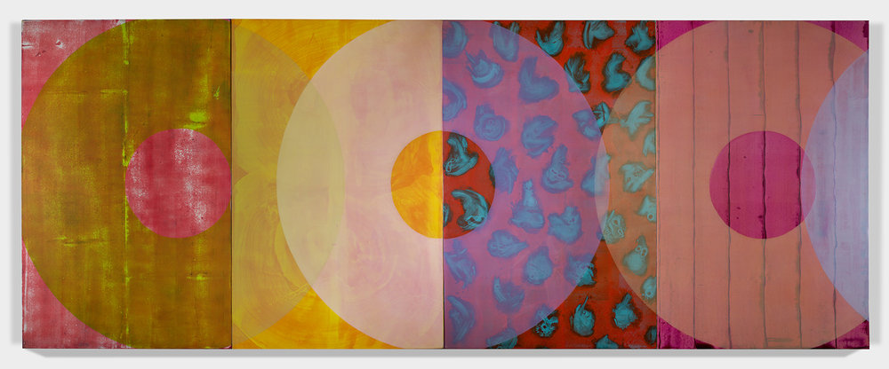SANCTUARY 2017 Oil on canvas 77 x 200 inches