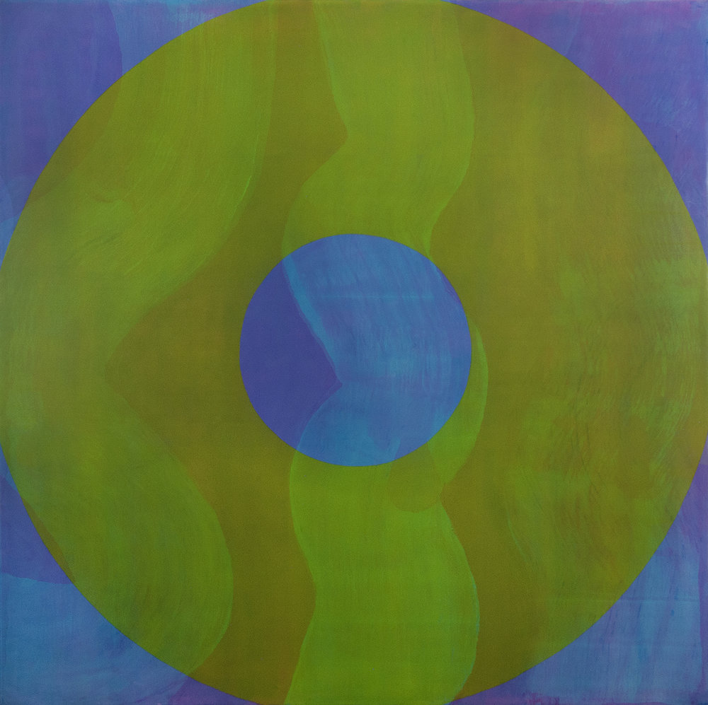 GAIA 2015 Oil on canvas 77 x 77 inches