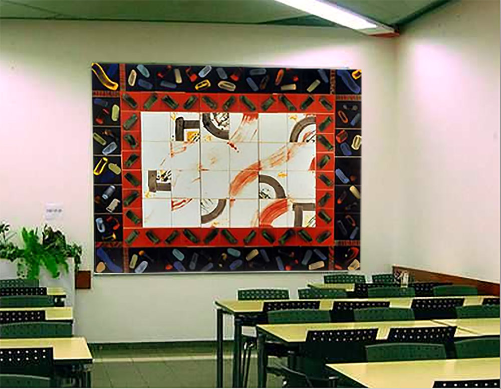 NEGEV CARPET 1993 Ben Gurion University, Beer Sheva, Israel 74 x 104 inches