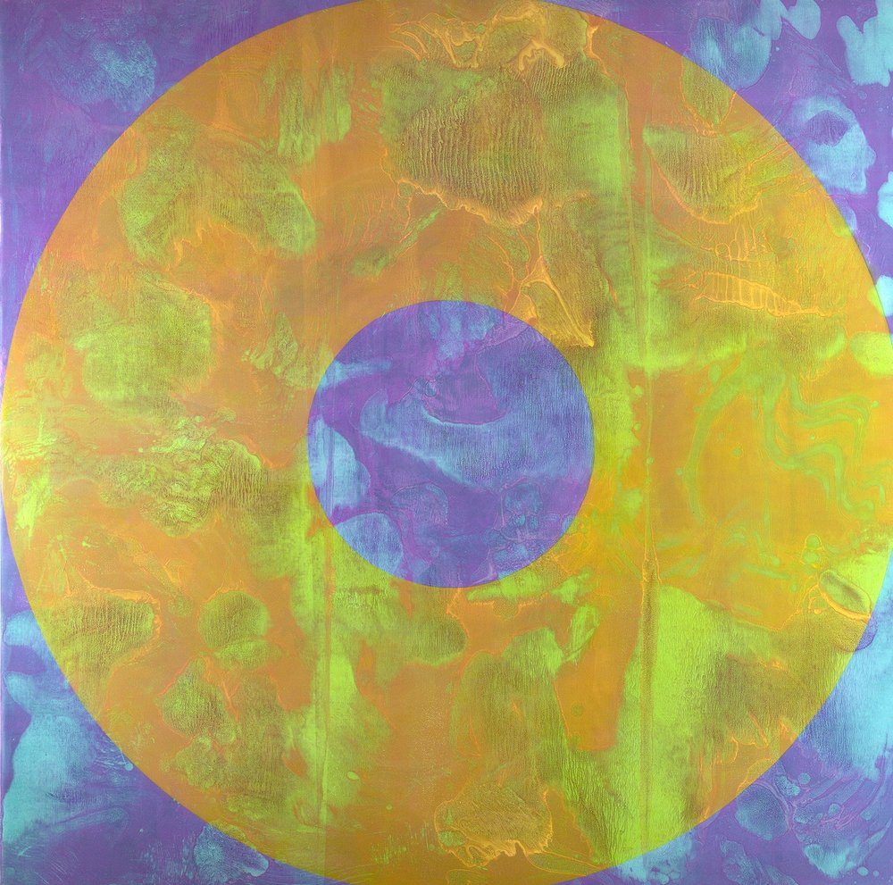 SOLARIS 2016 Oil on canvas 77 X 77 inches