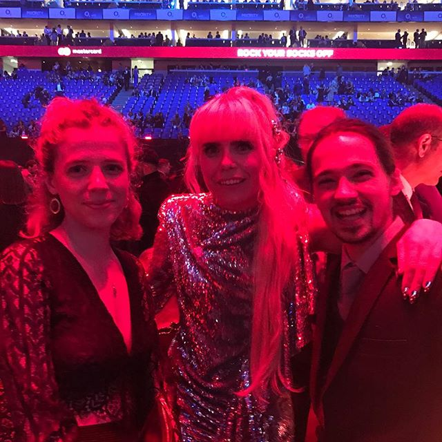Obviously over the moon to meet Paloma Faith at the Brits!!! @eloisekiely #palomafaith #brits #music