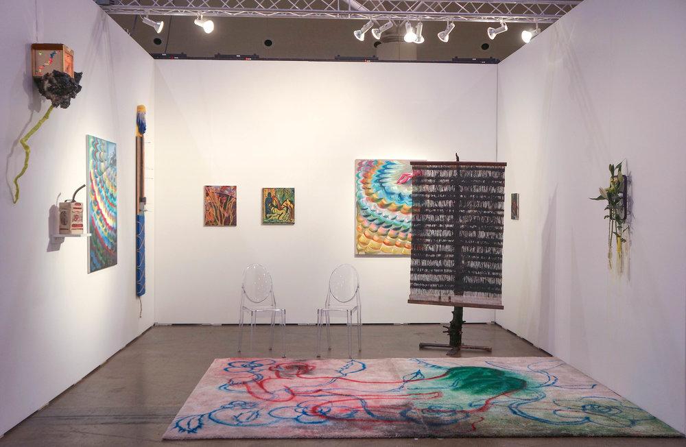 rodeo drive  Installation View ArtToronto Booth #F6, Toronto, 2017