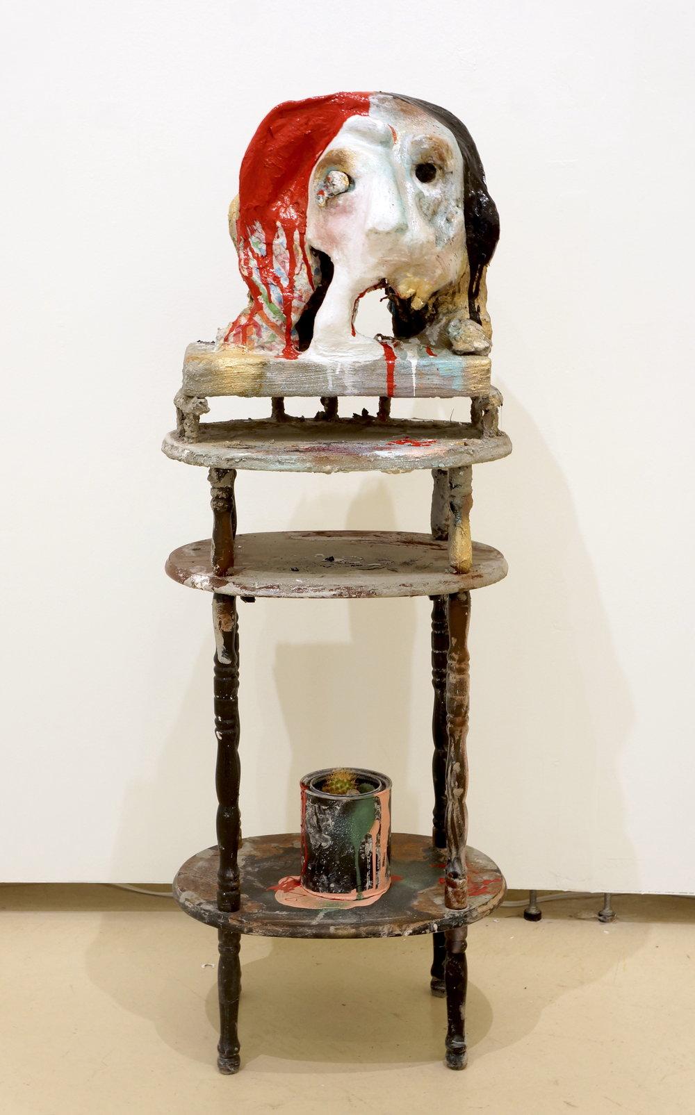 Jacqueline Cingolani  Untitled,  2018 mixed media 44 ½ x 16 x 12 in.