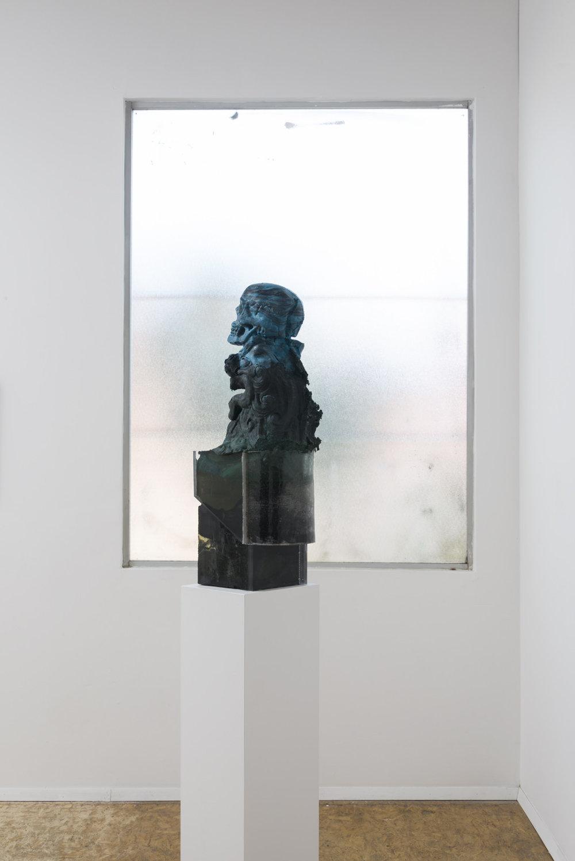 Emanuel Röhss  High Rise,  2016 pigmented urethane foam, acrylic glass, epoxy, urethane resin  10 ¼ x 8 x 28 ¼ in.