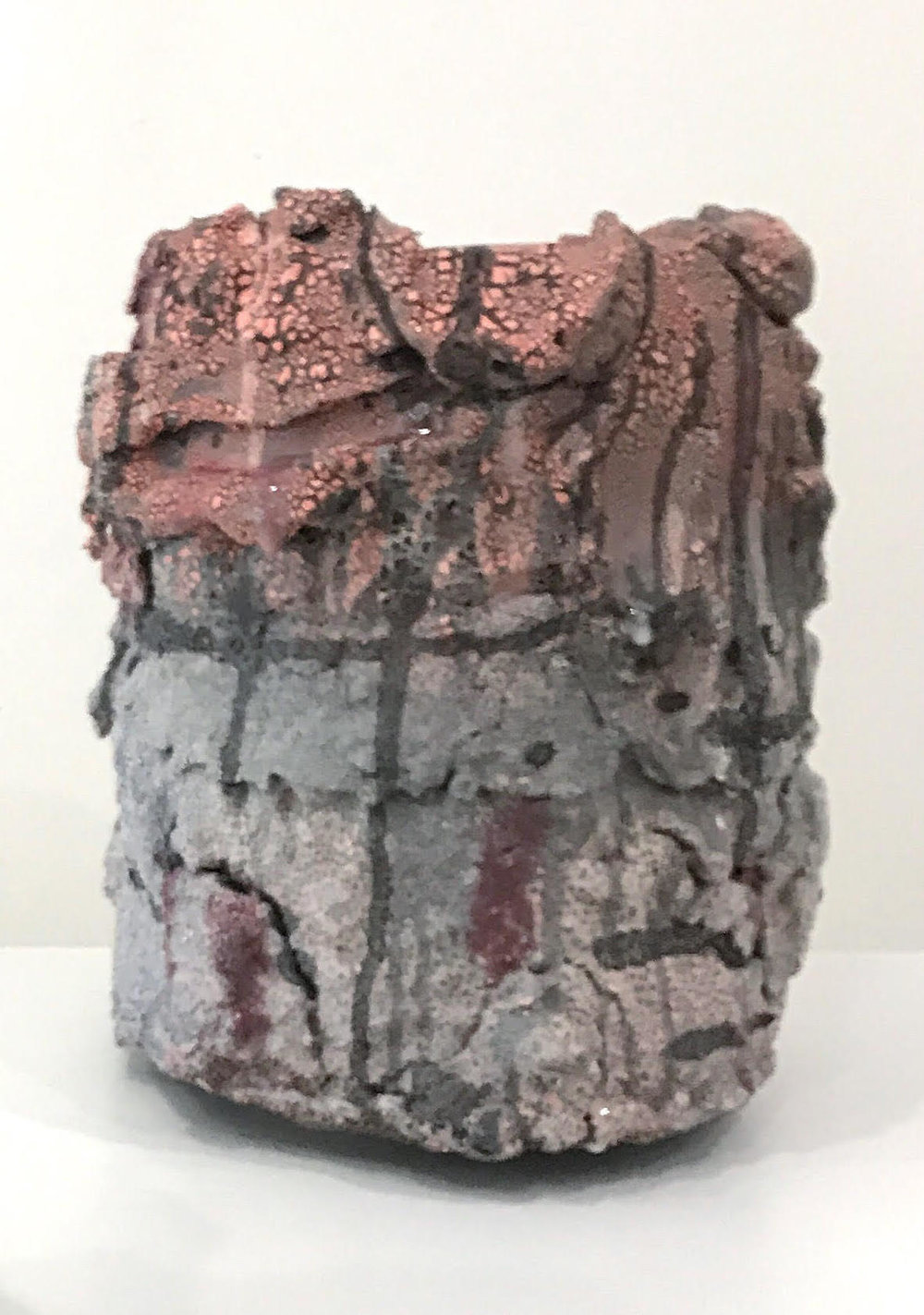 Brian Rochefort  Vessel 235 , 2016 ceramic, glaze 16 x 13 x 13 in.