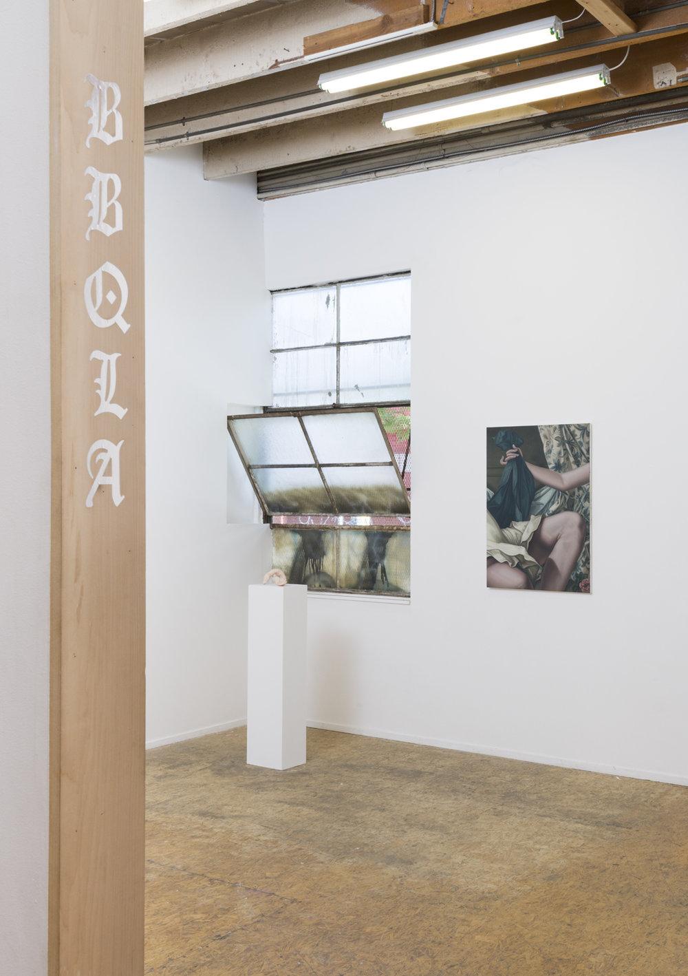 Las Lenguas,  Installation View BBQLA, Los Angeles, 2018