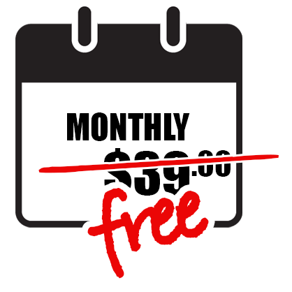 $39.00 a month. Renews automatically for your convenience.