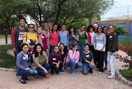 16 Guidelines workshop in Mexico for teachers.