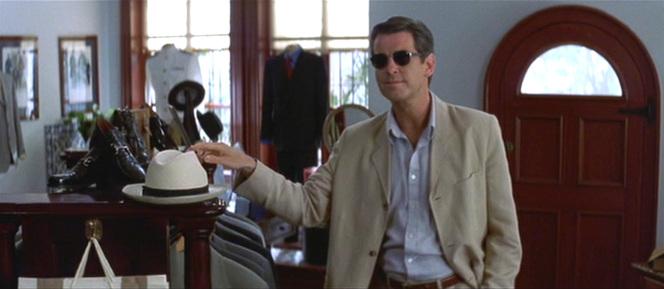 Pierce Brosnan in Tailor of Panama (2001)